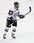 Kelly Zajac (Union - 19) - The University of Minnesota-Duluth Bulldogs defeated the Union College Dutchmen 2-0 in their NCAA East Regional Semi-Final on Friday, March 25, 2011, at Webster Bank Arena at Harbor Yard in Bridgeport, Connecticut.