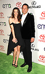 BURBANK, CA - SEPTEMBER 29: Talulah Riley and Elon Musk arrive at the 2012 Environmental Media Awards at Warner Bros. Studios on September 29, 2012 in Burbank, California.