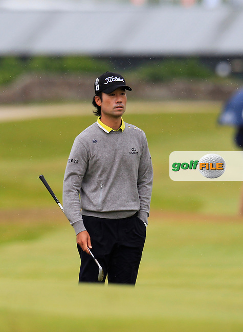 Kevin NA (USA) on the 17th during the final round on Monday of the 144th Open Championship, St Andrews Old Course, St Andrews, Fife, Scotland. 20/07/2015.<br /> Picture: Golffile | Fran Caffrey<br /> <br /> <br /> All photo usage must carry mandatory copyright credit (&copy; Golffile | Fran Caffrey)
