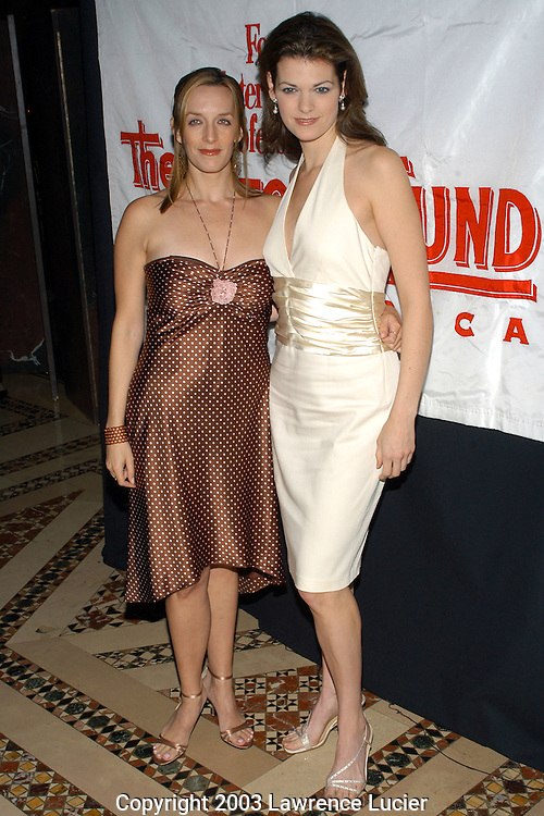 Julia Murney and Kate Shindle