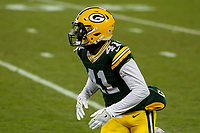 Green Bay Packers cornerback Lenzy Pipkins (41) during a National Football League game against the Minnesota Vikings on December 23rd, 2017 at Lambeau Field in Green Bay, Wisconsin. Minnesota defeated Green Bay 16-0. (Brad Krause/Krause Sports Photography)