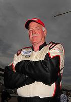 May 31, 2008; Dover, DE, USA; Nascar Nationwide Series driver Brad Teague during the Heluva Good 200 at the Dover International Speedway. Mandatory Credit: Mark J. Rebilas-