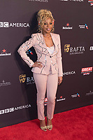 Mary J. Blige attends the BAFTA Los Angeles Awards Season Tea Party at Hotel Four Seasons in Beverly Hills, California, USA, on 06 January 2018. Photo: Hubert Boesl - NO WIRE SERVICE - Photo: Hubert Boesl/dpa /MediaPunch ***FOR USA ONLY***
