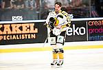 ***BETALBILD***  <br /> Stockholm 2015-09-19 Ishockey SHL Djurg&aring;rdens IF - Skellefte&aring; AIK :  <br /> Skellefte&aring;s Axel Holmstr&ouml;m deppar under matchen mellan Djurg&aring;rdens IF och Skellefte&aring; AIK <br /> (Foto: Kenta J&ouml;nsson) Nyckelord:  Ishockey Hockey SHL Hovet Johanneshovs Isstadion Djurg&aring;rden DIF Skellefte&aring; SAIK depp besviken besvikelse sorg ledsen deppig nedst&auml;md uppgiven sad disappointment disappointed dejected