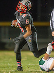 San Pedro, CA 11/27/15 - Adison Umrarong (Palos Verdes #6) in action during the CIF Western Division semi-final game between Mira Costa and Palos Verdes.  Palos Verdes defeated Mira Costa to advance to the Western Division finals.