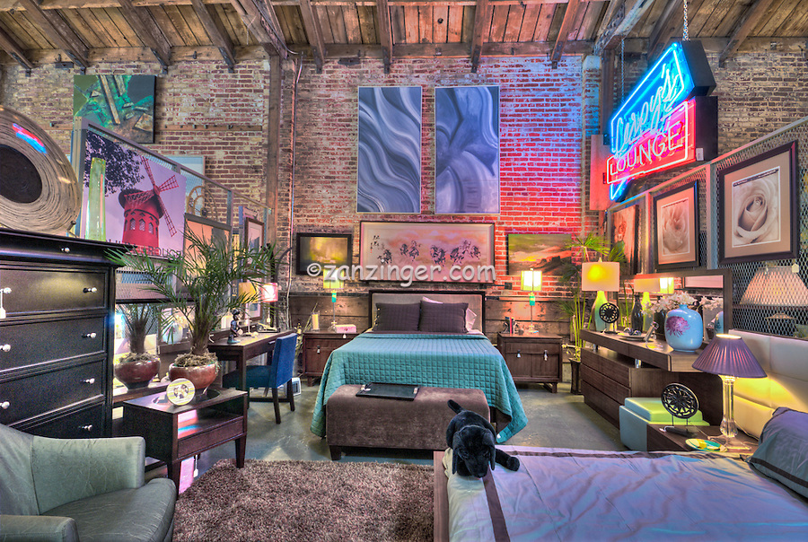 Furniture Store Arts District Los Angeles CA David Zanzinger Fine Art St