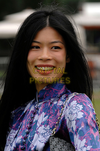 VANESSA MAE.Cartier International Polo at Guards Polo Club, Windsor Great Park, Berkshire, England.29th July 2007.portrait headshot.CAP/PL.©Phil Loftus/Capital Pictures