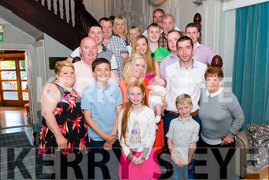 Anne O'Donoghue and Darren McCormick from Killarney celebrated christening of their son Ryan Tyler McCormick surrounded by friends and family in the Avenue Hotel, Killarney last Saturday.