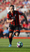 Bournemouth's Marc Pugh in action during todays match  <br /> <br /> Bournemouth 1 - Chelsea 3<br /> <br /> Photographer David Horton/CameraSport<br /> <br /> The Premier League - Bournemouth v Chelsea - Saturday 8th April 2017 - Vitality Stadium - Bournemouth<br /> <br /> World Copyright &copy; 2017 CameraSport. All rights reserved. 43 Linden Ave. Countesthorpe. Leicester. England. LE8 5PG - Tel: +44 (0) 116 277 4147 - admin@camerasport.com - www.camerasport.com