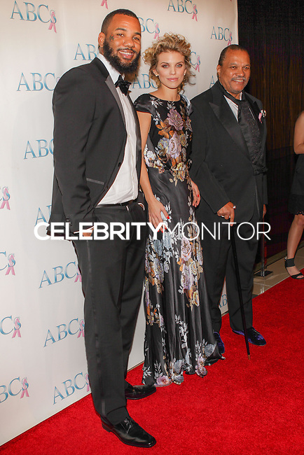 BEVERLY HILLS, CA, USA - NOVEMBER 22: The Game, AnnaLynne McCord, Billy Dee Williams arrive at the Associates For Breast And Prostate Cancer Studios 25th Annual Talk Of The Town Black Tie Gala held at The Beverly Hilton Hotel on November 22, 2014 in Beverly Hills, California, United States. (Photo by Rudy Torres/Celebrity Monitor)