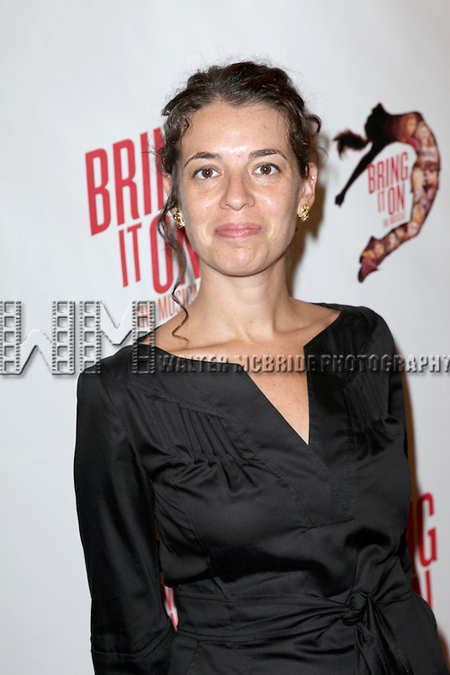 Quiara Hudes.attending the Broadway Opening Night Performance of 'Bring it On The Musical' at the St. James Theatre in New York City on 8/1/2012 © Walter McBride / WM Photography