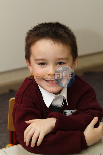 Ballapousta NS 1st Day at School 2012...Photo NEWSFILE/Jenny Matthews.