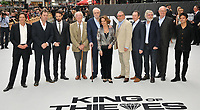 "James Marsh, Joe Penhall, Charlie Cox, Sir Michael Gambon, Sir Michael Caine, Francesca Annis, Ray Winstone, Paul Whitehouse, Sir Tom Courtenay, Jim Broadbent and Jamie Cullum at the ""King of Thieves"" world film premiere, Vue West End, Leicester Square, London, England, UK, on Wednesday 12 September 2018.<br /> CAP/CAN<br /> ©CAN/Capital Pictures"