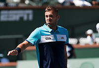 DANIEL EVANS (GBR)<br /> <br /> BNP PARIBAS OPEN, INDIAN WELLS, TENNIS GARDEN, INDIAN WELLS, CALIFORNIA, USA<br /> <br /> &copy; TENNIS PHOTO NETWORK