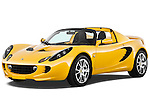 Front three quarter view of a 2009 Lotus Elise SC 2 Door Convertible.