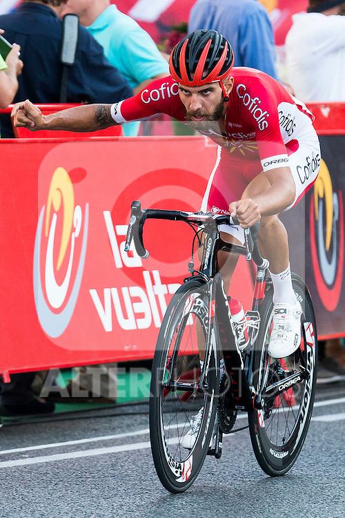 Loie Chetout during La Vuelta a España 2016 in Madrid. September 11, Spain. 2016. (ALTERPHOTOS/BorjaB.Hojas)