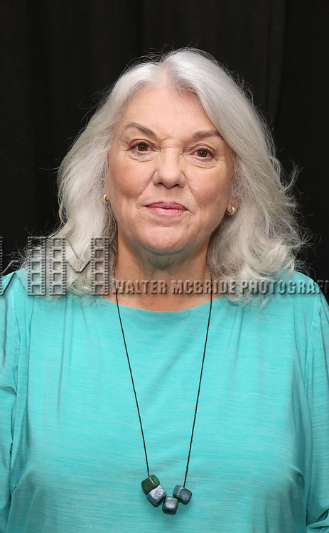 Tyne Daly attends the Photo Call for The Dorset Theatre Festival World Premiere of Theresa Rebeck's 'Downstairs' at Actors Connection on May 10, 2017 in New York City.