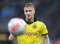 FUSSBALL   1. BUNDESLIGA   SAISON 2012/2013   17. SPIELTAG   TSG 1899 Hoffenheim - Borussia Dortmund      16.12.2012           Marco Reus (Borussia Dortmund) mit Ball