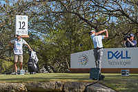 Charles Howell III (USA) watches his tee shot on 12 during round 1 of the World Golf Championships, Dell Match Play, Austin Country Club, Austin, Texas. 3/21/2018.<br /> Picture: Golffile | Ken Murray<br /> <br /> <br /> All photo usage must carry mandatory copyright credit (&copy; Golffile | Ken Murray)