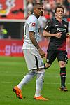 14.04.2018, BayArena, Leverkusen , GER, 1.FBL., Bayer 04 Leverkusen vs. Eintracht Frankfurt<br /> im Bild / picture shows: <br /> Kevin Prince Boateng (Frankfurt #17),  Einzelaktion, Ganzk&ouml;rper / Ganzkoerper,  <br /> <br /> <br /> Foto &copy; nordphoto / Meuter
