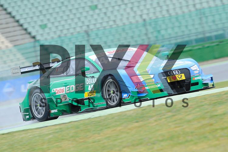 # 48 Edoardo Mortara auf Audi RS5 DTM vom Audi Sport Team Abt Sportsline  beim Training der DTM auf dem Hockenheimring.<br /> <br /> Foto &copy; P-I-X.org *** Foto ist honorarpflichtig! *** Auf Anfrage in hoeherer Qualitaet/Aufloesung. Belegexemplar erbeten. Veroeffentlichung ausschliesslich fuer journalistisch-publizistische Zwecke. For editorial use only.