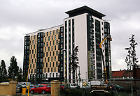 Pictured: Kennedy Gardens flats in Billingham. Tuesday 27 June 2017<br />