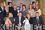 Amanda and Colm Murray Kilcummin celebrate the christening of their daughter Caoimhe with their family in the Dromhall Hotel on Saturday ..   Copyright Kerry's Eye 2008