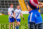 Munster intermediate Champions St Marys Liam Corcoran & Denis Daly smile at the end of their match against Cork Champions Carrigaline.