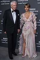 "Halle Berry, Marco Tronchetti Provera (Pirelli's President), attend the gala night for official presentation of the Presentation of the Pirelli Calendar 2019 ""The cal"" held at the Hangar Bicocca. Milan (Italy) on december 5, 2018. Credit: Action Press/MediaPunch ***FOR USA ONLY***"