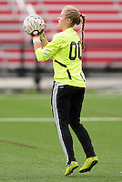 Oregon goalkeeper, Abby Breitbach, holds Green Bay Southwest scoreless, as Oregon tops Green Bay Southwest 3-0 to win the WIAA Division 2 girls soccer state championship, on Saturday, June 20, 2015 at Uihlein Soccer Park in Milwaukee, Wisconsin