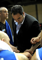 Saints coach Pero Cameron. NBL - Wellington Saints v Nelson Giants at TSB Bank Arena, Wellington, New Zealand on Thursday, 19 May 2011. Photo: Dave Lintott / lintottphoto.co.nz