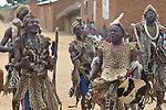 Traditional dancers perform in Kalikumbi, Malawi, part of an educational program promoting good health. The Maternal, Newborn and Child Health program of the Livingstonia Synod of the Church of Central Africa Presbyterian has helped families in this village to stay healthy.