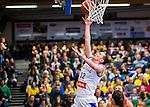 S&ouml;dert&auml;lje 2015-11-21 Basket EM-kval Sverige - Spanien :  <br /> Sveriges Anna Barthold g&ouml;r po&auml;ng under matchen mellan Sverige och Spanien <br /> (Foto: Kenta J&ouml;nsson) Nyckelord:  T&auml;ljehallen Basket Landslag Landslaget Dam Damer Dambasket Dambasketlandslaget Basketlandslaget Sverige Sweden Svenska EM Kval EM-kval Spanien Spain Spanska