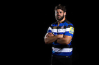 Guy Mercer poses for a portrait at a Bath Rugby photocall. Bath Rugby Media Day on August 24, 2016 at Farleigh House in Bath, England. Photo by: Rogan Thomson / JMP / Onside Images