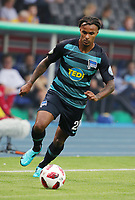 Valentino Lazaro      <br /> / Sport / Football / DFB Pokal 1.round 3. Bundesliga Bundesliga /  2018/2019 / 20.08.2018 / BTSV Eintracht Braunschweig vs. Hertha BSC Berlin / DFL regulations prohibit any use of photographs as image sequences and/or quasi-video. /<br />       <br />    <br />  *** Local Caption *** &copy; pixathlon<br /> Contact: +49-40-22 63 02 60 , info@pixathlon.de
