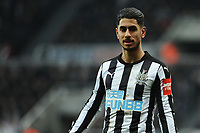 Ayoze Perez of Newcastle United during Newcastle United vs Swansea City, Premier League Football at St. James' Park on 13th January 2018