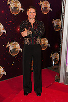 Steve Backshall at the Strictly Come Dancing Launch, London, 02/09/2014 Picture by: Alexandra Glen / Featureflash