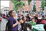 La Festa dei Vicini 2012 a Torino, nel quartiere di Barriera di Milano.