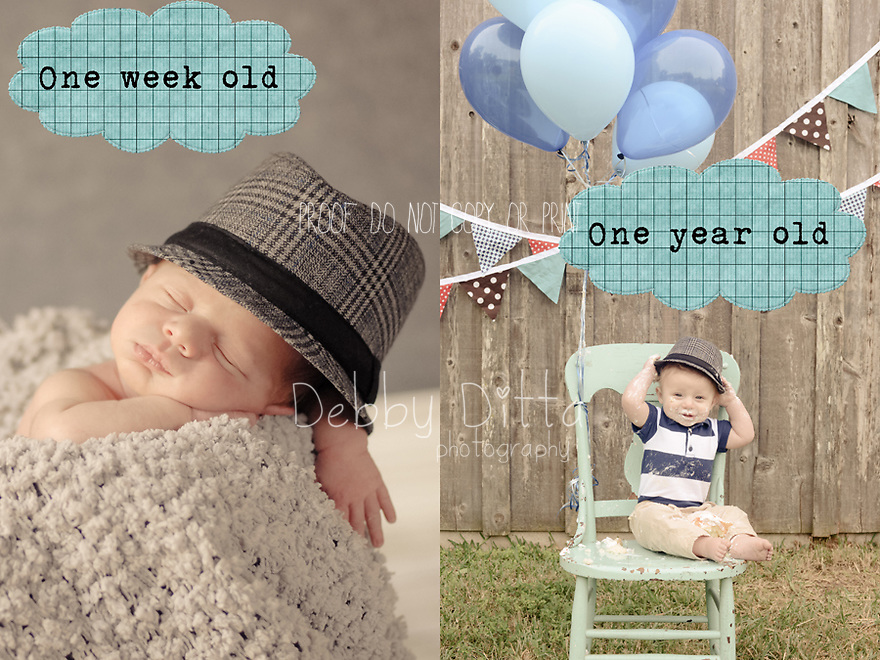 Child Children Boy Girl One Hat Year Cake Smash Birthday Second Baby Photographer Photography Debby