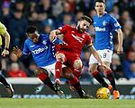 05.12.2018 Rangers v Aberdeen: Lassana Coulibaly and Graeme Shinnie