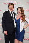 WESTWOOD, CA - JUNE 28: Denis Leary and daughter  arrive at the Los Angeles premiere of 'The Amazing Spiderman' at Regency Village Theatre on June 28, 2012 in Westwood, California.