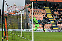 Ben hinchliffe Of Stockport County FC makes a save during Barnet vs Stockport County, Emirates FA Cup Football at the Hive Stadium on 2nd December 2018