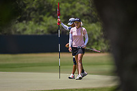 Stephanie Meadow (NIR) after sinking her putt on 4 during round 1 of the 2019 US Women's Open, Charleston Country Club, Charleston, South Carolina,  USA. 5/30/2019.<br /> Picture: Golffile | Ken Murray<br /> <br /> All photo usage must carry mandatory copyright credit (© Golffile | Ken Murray)