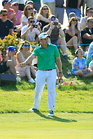 Paul Dunne of Team Ireland in action on day 2 at the GolfSixes played at The Centurion Club, St Albans, England. <br /> 06/05/2018.<br /> Picture: Golffile | Phil Inglis<br /> <br /> <br /> All photo usage must carry mandatory copyright credit (&copy; Golffile | Phil Inglis)