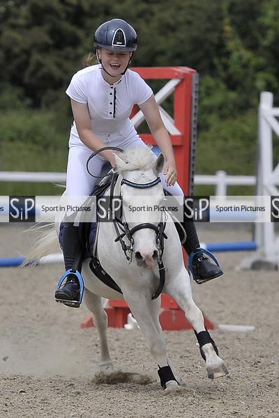 Class 5. Unaffiliated Showjumping. Brook Farm Training Centre. Essex. 10/06/2018. ~ MANDATORY Credit Garry Bowden/Sportinpictures - NO UNAUTHORISED USE - 07837 394578