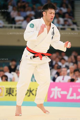 Takashi Ono, APRIL 29, 2015 - Judo : 2015 All Japan Judo Championships at Nippon Budokan, Tokyo, Japan. <br /> (Photo by Yohei Osada/AFLO SPORT)