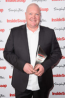 Dominic Brunt at the Inside Soap Awards 2017 held at the Hippodrome, Leicester Square, London, UK. <br /> 06 November  2017<br /> Picture: Steve Vas/Featureflash/SilverHub 0208 004 5359 sales@silverhubmedia.com
