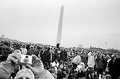 Washington DC<br /> District of Columbia<br /> USA<br /> January 18, 2009<br /> <br /> A giant free concert - We Are One: The Obama Inaugural Celebration at the Lincoln Memorial? was hosted by Home Box Office (HBO). Performers included Beyonce, Bruce Springsteen, Will.i.am, Stevie Wonder, John Legend with special guests Jack Black, Denzel Washington, Tom Hanks, Queen Latifah and others. More than 400,000 people filled the National Mall the event that was the official start of a three-day jubilee of prayers, parades and parties. They endured long security lines and chilly weather for a two-hour salute to the man who will be America's first black president. More than four million people watched the opening event of the inauguration on TV.