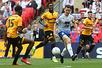 Connor Jennings of Tranmere Rovers in action during Newport County vs Tranmere Rovers, Sky Bet EFL League 2 Play-Off Final Football at Wembley Stadium on 25th May 2019