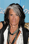 "LOS ANGELES, CA - MAY 23: Joe Perry of Aerosmith poses in the press room during ""American Idol Season 11 Grand Finale"" Show at Nokia Theatre L.A. Live on May 23, 2012 in Los Angeles, California."